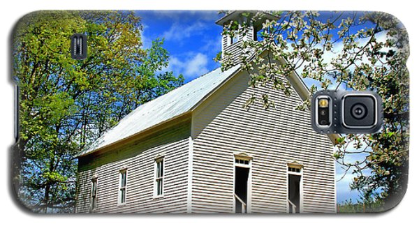 Galaxy S5 Case featuring the photograph My Little Country Church by Geraldine DeBoer