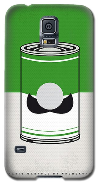 Tomato Galaxy S5 Case - My Mario Warhols Minimal Can Poster-luigi by Chungkong Art