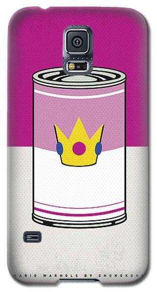 Tomato Galaxy S5 Case - My Mario Warhols Minimal Can Poster-peach by Chungkong Art