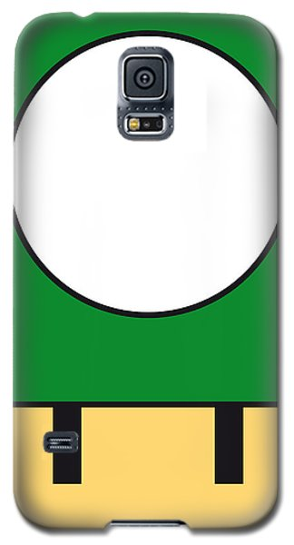 Castle Galaxy S5 Case - My Mariobros Fig 05b Minimal Poster by Chungkong Art