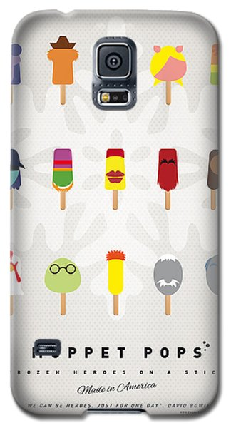 Bear Galaxy S5 Case - My Muppet Ice Pop - Univers by Chungkong Art