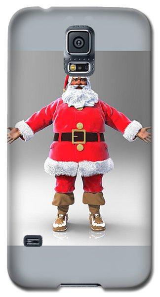 My Name Is Santa Galaxy S5 Case by Dave Luebbert