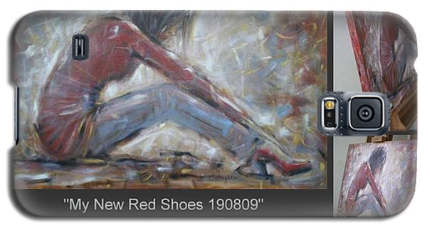 My New Red Shoes 190809 Galaxy S5 Case