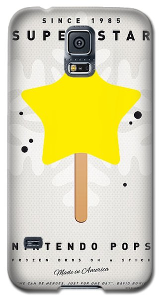 Castle Galaxy S5 Case - My Nintendo Ice Pop - Super Star by Chungkong Art