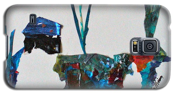 Galaxy S5 Case featuring the mixed media My Own Sweet Time by Mary Sullivan
