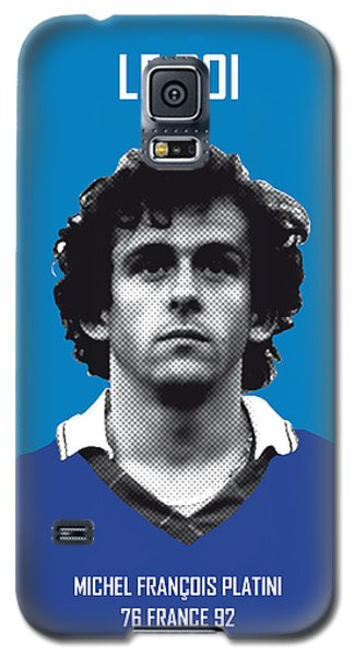 My Platini Soccer Legend Poster Galaxy S5 Case by Chungkong Art