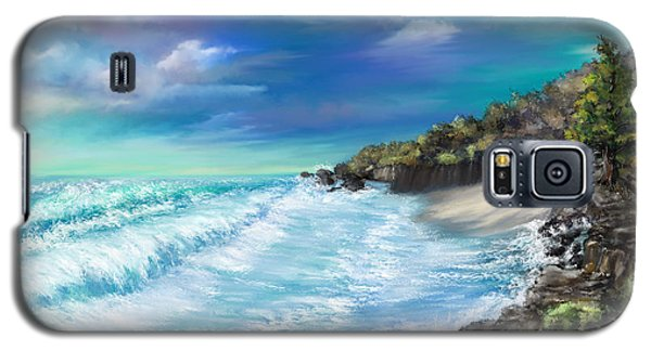 My Private Ocean Galaxy S5 Case by Susan Kinney