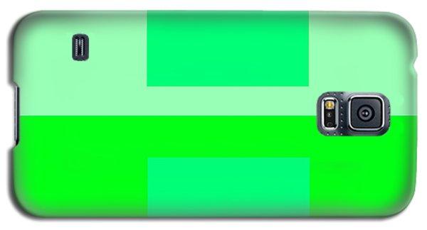 Color Field Green Galaxy S5 Case