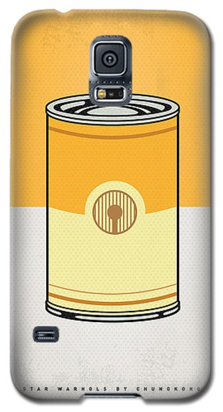 My Star Warhols 3cpo Minimal Can Poster Galaxy S5 Case