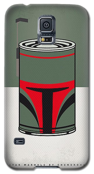 My Star Warhols Boba Fett Minimal Can Poster Galaxy S5 Case