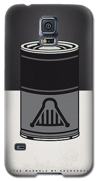 Tomato Galaxy S5 Case - My Star Warhols Darth Vader Minimal Can Poster by Chungkong Art