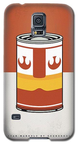 Tomato Galaxy S5 Case - My Star Warhols Luke Skywalker Minimal Can Poster by Chungkong Art