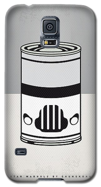 Tomato Galaxy S5 Case - My Star Warhols Stormtrooper Minimal Can Poster by Chungkong Art