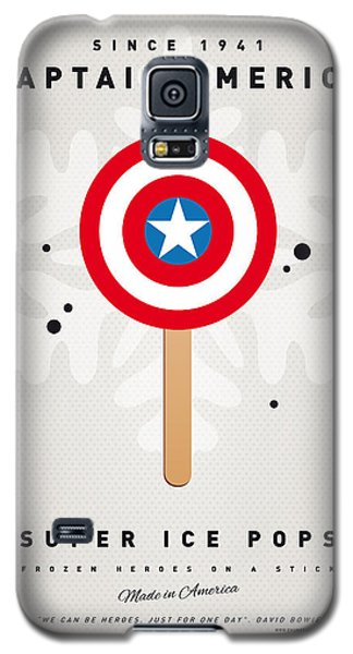My Superhero Ice Pop - Captain America Galaxy S5 Case