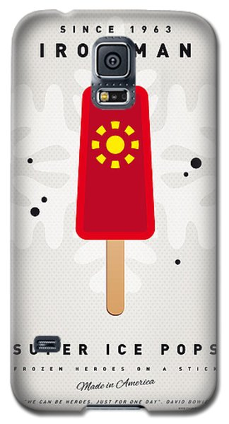 Superhero Galaxy S5 Case - My Superhero Ice Pop - Iron Man by Chungkong Art