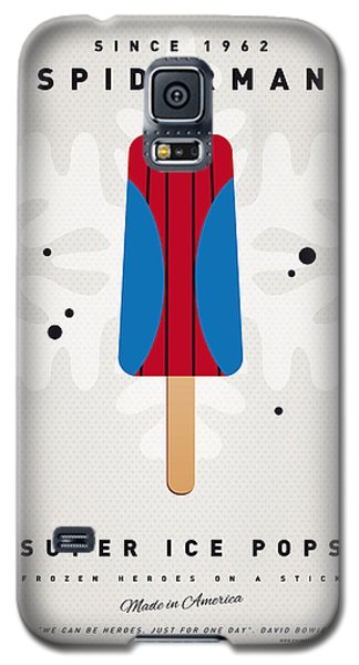 Spider Galaxy S5 Case - My Superhero Ice Pop - Spiderman by Chungkong Art