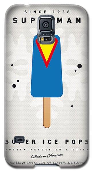 Superhero Galaxy S5 Case - My Superhero Ice Pop - Superman by Chungkong Art