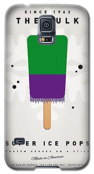 Superhero Galaxy S5 Case - My Superhero Ice Pop - The Hulk by Chungkong Art