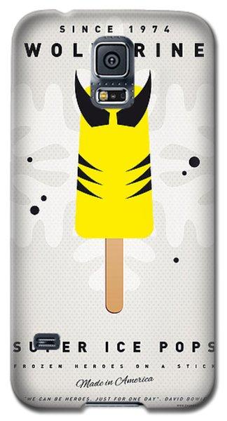 Superhero Galaxy S5 Case - My Superhero Ice Pop - Wolverine by Chungkong Art