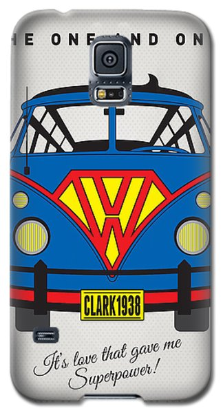 Superhero Galaxy S5 Case - My Superhero-vw-t1-superman by Chungkong Art