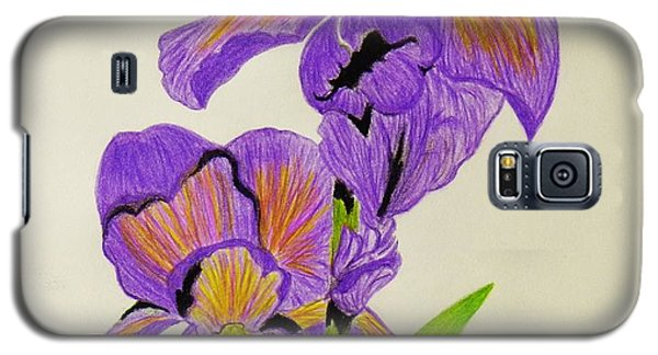 My Sweet Iris Galaxy S5 Case