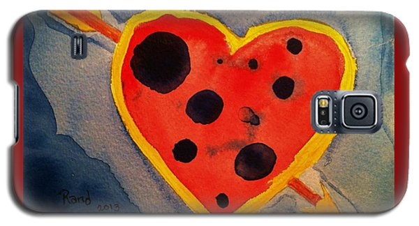 Galaxy S5 Case featuring the painting Imperfect Love by Rand Swift