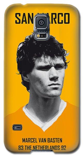 My Van Basten Soccer Legend Poster Galaxy S5 Case by Chungkong Art
