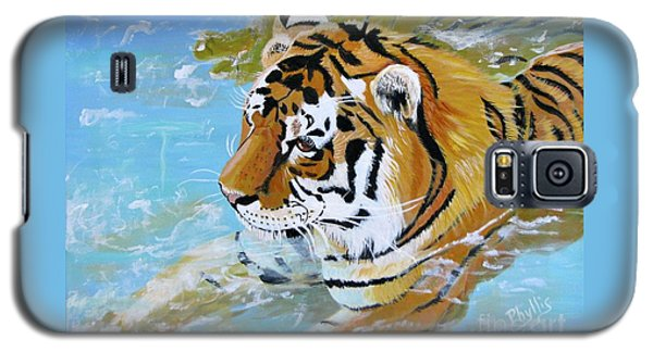 My Water Tiger Galaxy S5 Case
