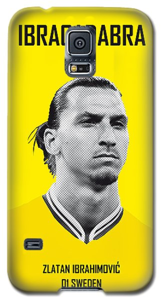 Barcelona Galaxy S5 Case - My Zlatan Soccer Legend Poster by Chungkong Art
