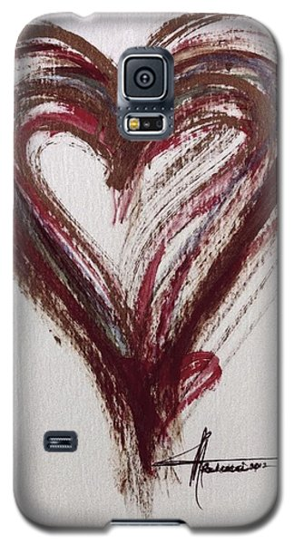 Myeloma Awareness Heart Galaxy S5 Case