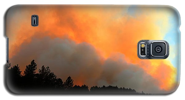 Myrtle Fire Near Rifle Pit Road Galaxy S5 Case