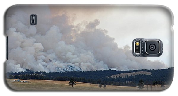 Myrtle Fire West Of Wind Cave National Park Galaxy S5 Case
