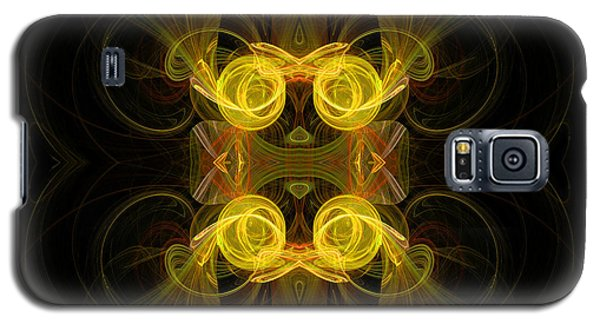 Galaxy S5 Case featuring the digital art Mysterious Energy by Hanza Turgul