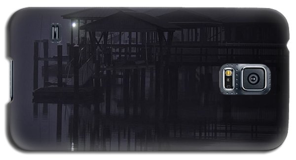 Galaxy S5 Case featuring the photograph Mysterious Morning by Laura Ragland