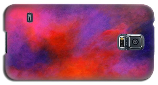 Galaxy S5 Case featuring the painting Mysterious Sunrise by Alison Caltrider