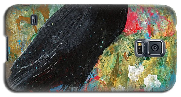 Galaxy S5 Case featuring the painting Mystery At Every Turn by Robin Maria Pedrero