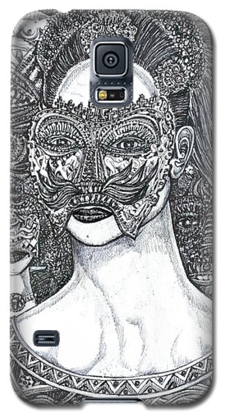 Mystery Girl Galaxy S5 Case by Giovanni Caputo