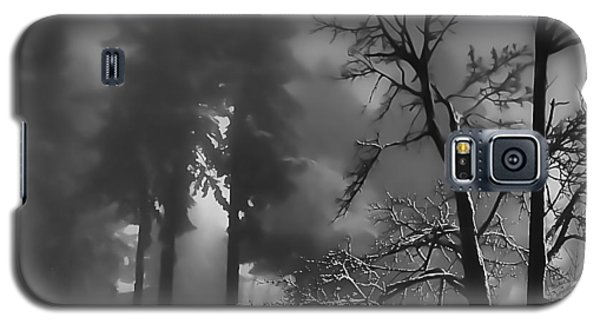 Galaxy S5 Case featuring the photograph Mystic Fog by Don Schwartz