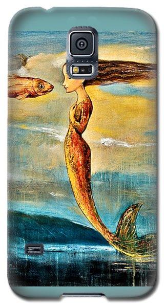Mermaid Galaxy S5 Case - Mystic Mermaid IIi by Shijun Munns