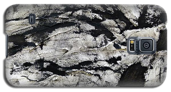 Galaxy S5 Case featuring the painting Mystical - Abstract Art by Ismeta Gruenwald