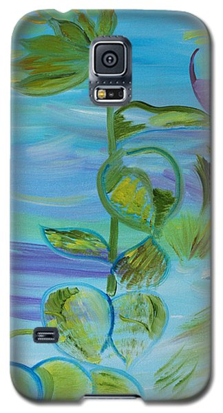 Galaxy S5 Case featuring the painting Mystical Moods by Meryl Goudey