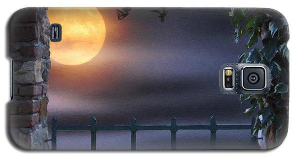 Mystical Moon Galaxy S5 Case