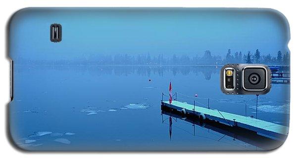 Mystical  Morning - Skaha Lake 03-06-2014 Galaxy S5 Case