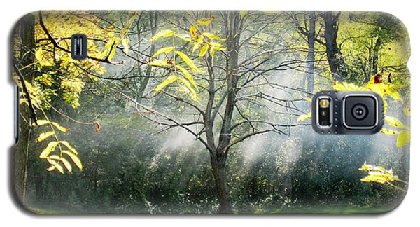 Galaxy S5 Case featuring the photograph Mystical Parkland by Nina Silver