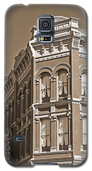 N. D. Hill Building. Port Townsend Historic District  Galaxy S5 Case