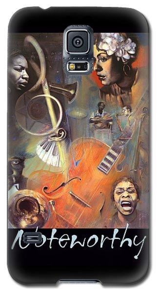 N O T E W O R T H Y Galaxy S5 Case by Brooks Garten Hauschild