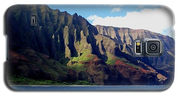 Na Pali Coast On Kauai Galaxy S5 Case by Amy McDaniel