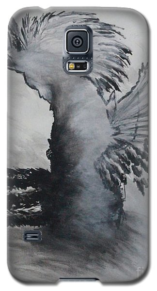 Galaxy S5 Case featuring the painting Naamid by Ayasha Loya