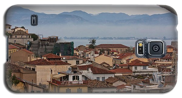 Galaxy S5 Case featuring the photograph Nafplio by Shirley Mitchell