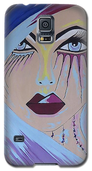 Galaxy S5 Case featuring the painting Naira by Kathleen Sartoris